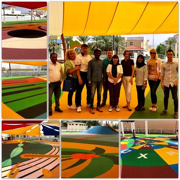 Детские площадки с покрытием из ЭПДМ крошки Fairmont Polimers
