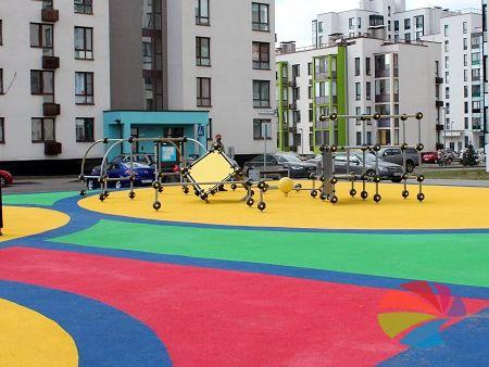 Экологическая безопасность резиновых покрытий для детских площадок